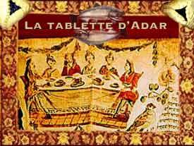 La Tablette d'Adar