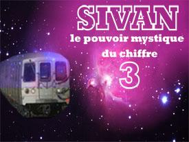 Sivan: le pouvoir mystique du chiffre 3