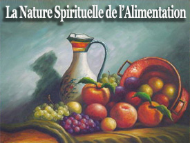 La nature spirituelle de land#8217;alimentation