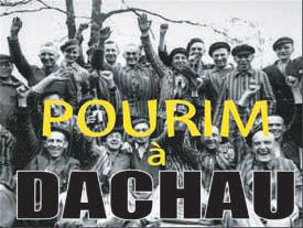 Pourim à Dachau