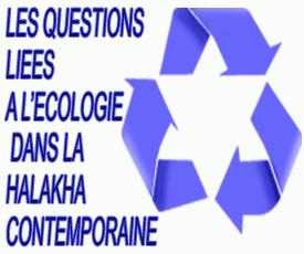 Questions liées à land#8217;écologie dans la halakha contemporaine